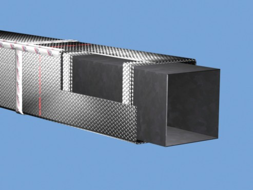Folie termoizolanta utlilizare - Conducte si tubulaturi REFLECTIX - Poza 2