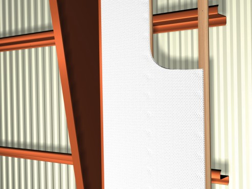 Folie termoizolanta utlilizare - Hale industriale REFLECTIX - Poza 2