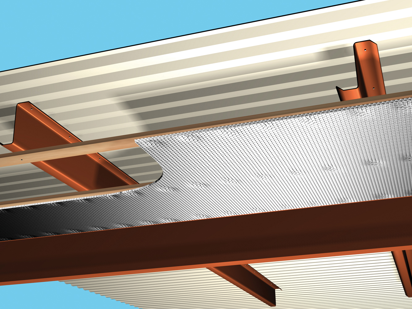 Folie termoizolanta utlilizare - Hale industriale REFLECTIX - Poza 4