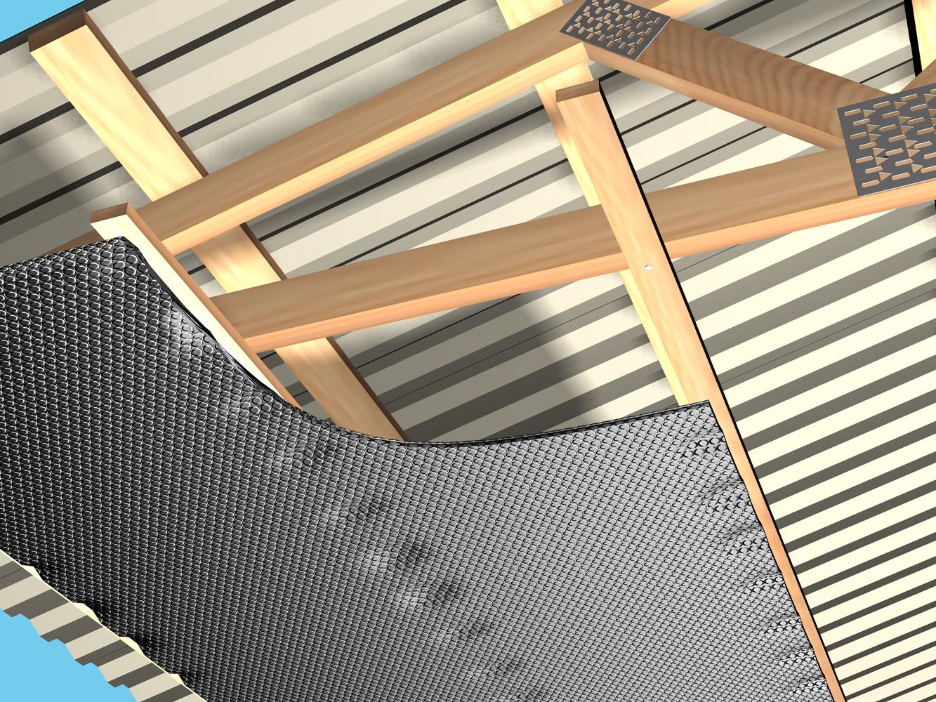 Folie termoizolanta utlilizare - Hale industriale REFLECTIX - Poza 5