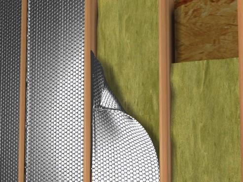 Folie termoizolanta utlilizare - Pereti de interior pe structura din lemn REFLECTIX - Poza 2