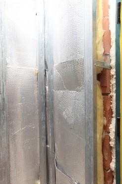 Folie termoizolanta utlilizare - Pereti de interior din zidarie REFLECTIX - Poza 3