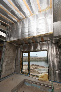 Folie termoizolanta utlilizare - Pereti de interior din zidarie REFLECTIX - Poza 5