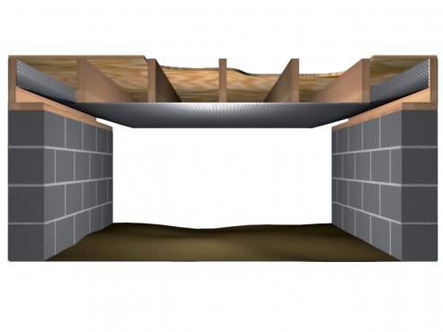 Folie termoizolanta utlilizare - Plafoane si tavane REFLECTIX - Poza 2