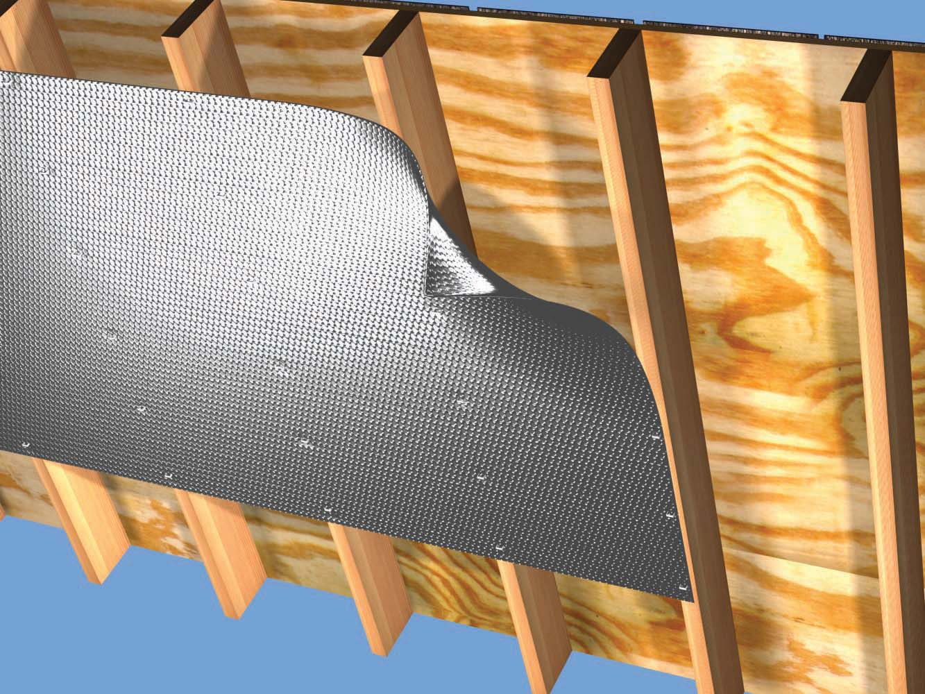 Folie termoizolanta utlilizare - Acoperisuri, poduri si mansarde REFLECTIX - Poza 1