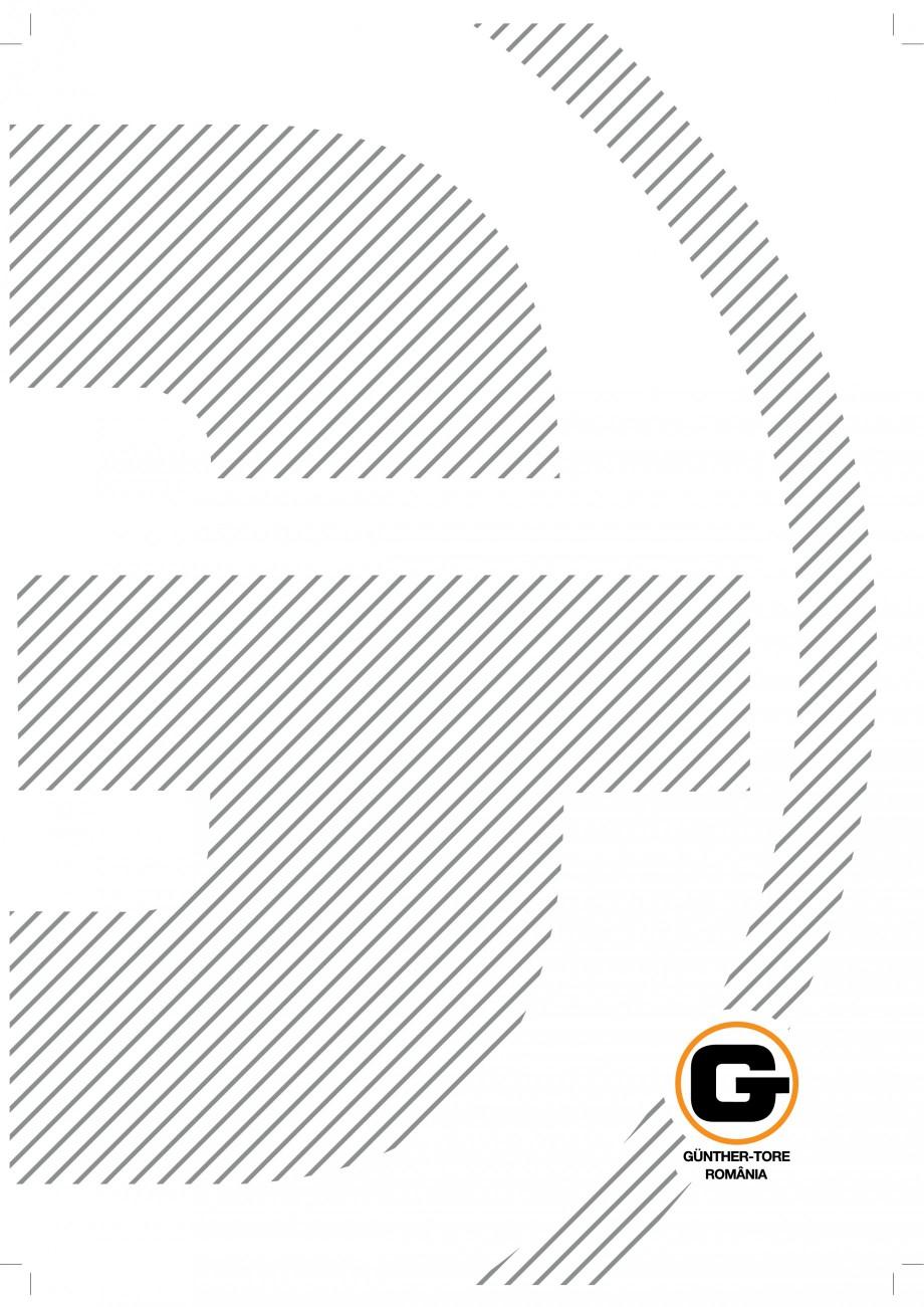Pagina 1 - Porti industriale sectionale GUNTHER-TORE Catalog, brosura Romana 0    & %  1234 89 ...