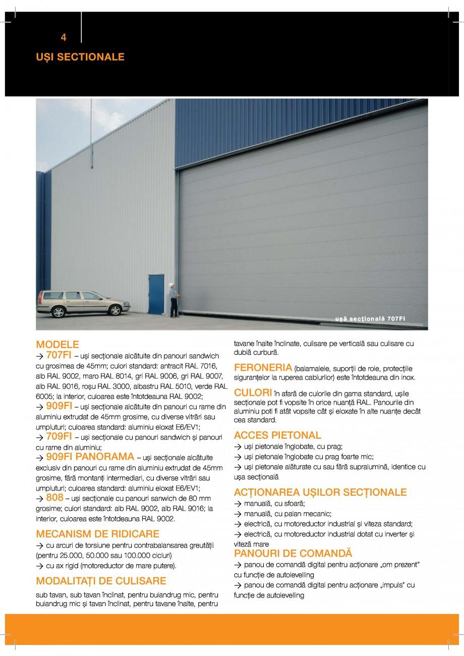 Pagina 4 - Porti industriale sectionale GUNTHER-TORE Catalog, brosura Romana Z b  P  g RhUWjQkU i...