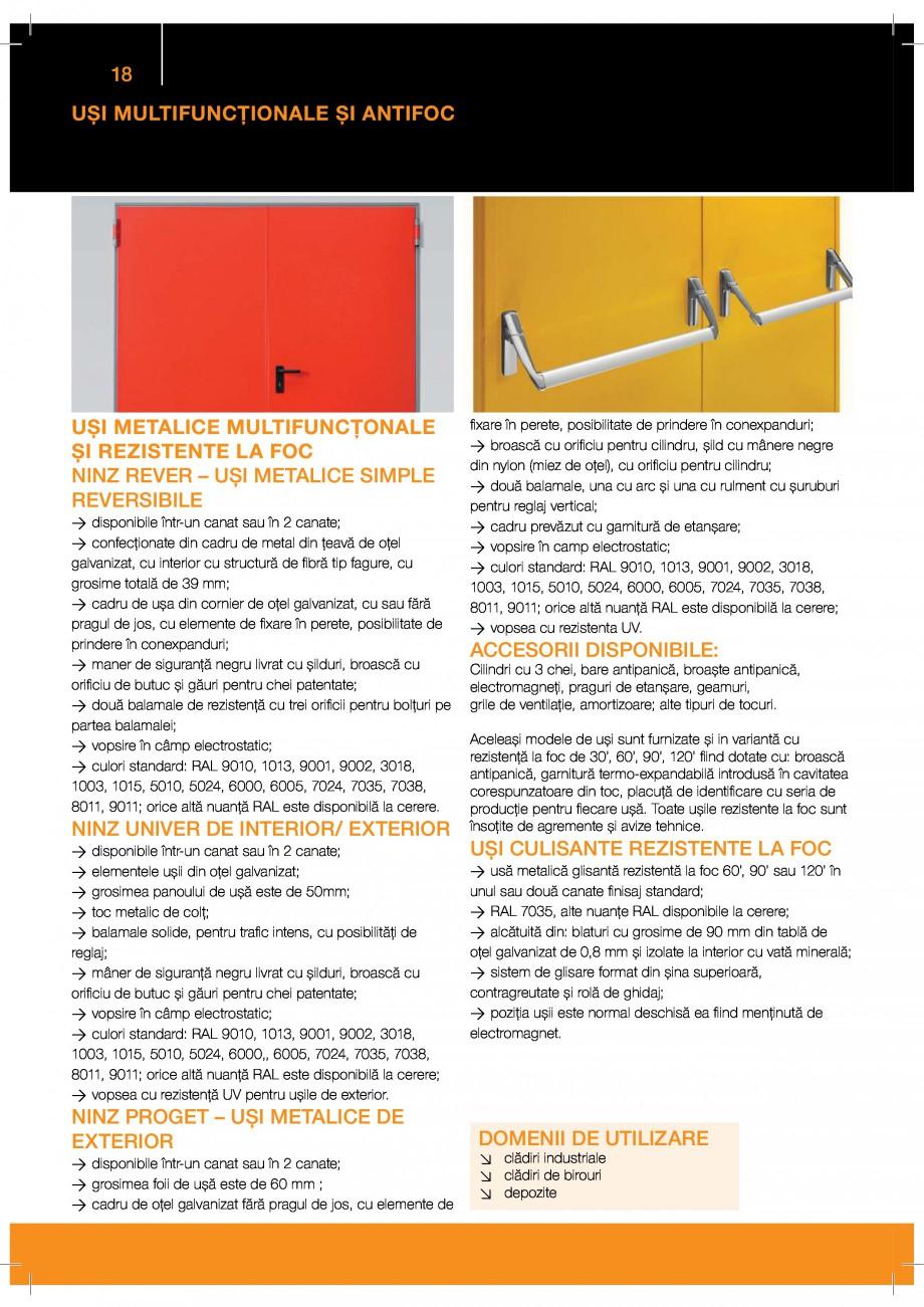 Pagina 18 - Porti industriale sectionale GUNTHER-TORE Catalog, brosura Romana w ooÆ  % ...