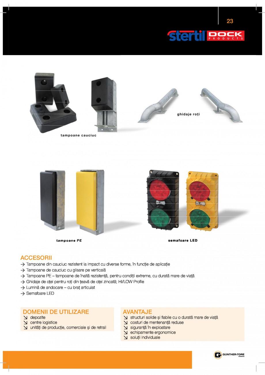 Pagina 23 - Porti industriale sectionale GUNTHER-TORE Catalog, brosura Romana     -