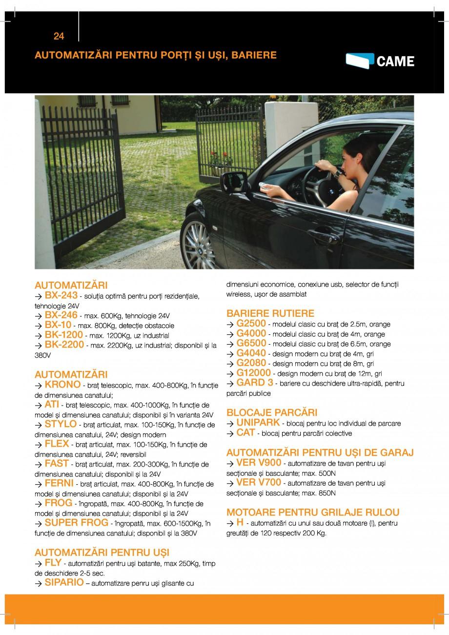 Pagina 24 - Porti industriale sectionale GUNTHER-TORE Catalog, brosura Romana -