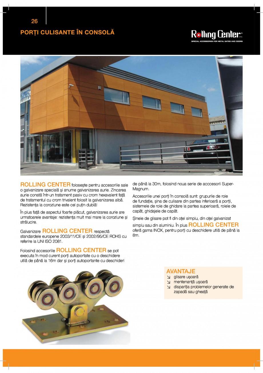 Pagina 26 - Porti industriale sectionale GUNTHER-TORE Catalog, brosura Romana  $$