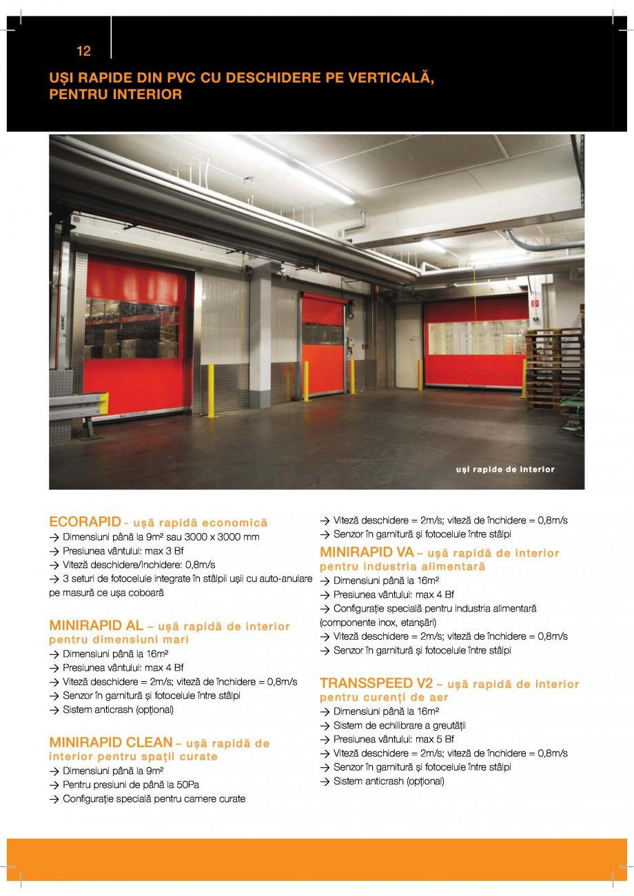 Pagina 12 - Catalog produse GUNTHER TORE  BUTZBACH NOVOSPRINT Catalog, brosura Romana  %