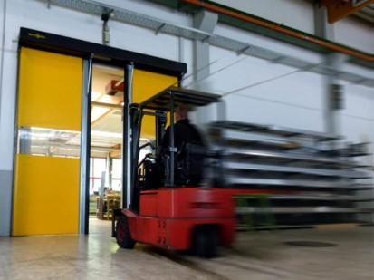 Poarta industriala rapida - deschisa NOVOSPRINT Porti industriale rapide