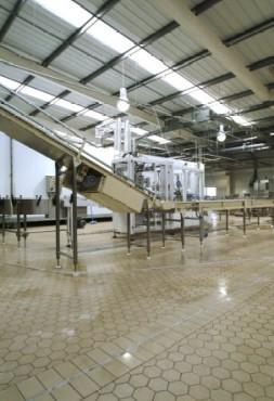 Exemple de utilizare Pardoselala ceramica vibrata - Industria alimentara PLACARI FAINE - Poza 5