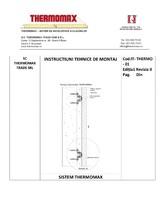 Panouri termoizolante din poliuretan pentru sisteme de anvelopare termica THERMOMAX