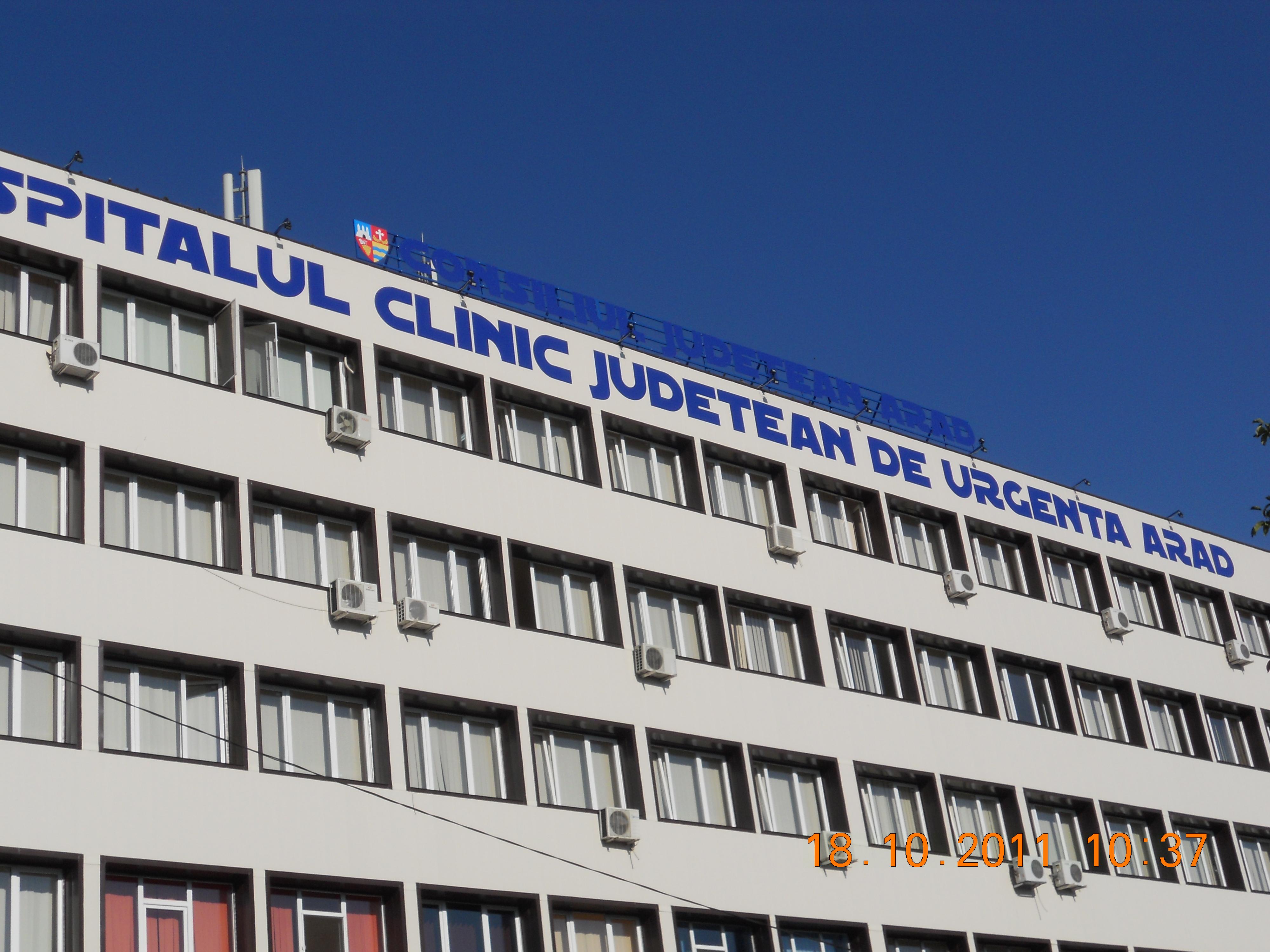 Anvelopare termica - Spitalul judetean de urgenta ARAD THERMOMAX - Poza 1