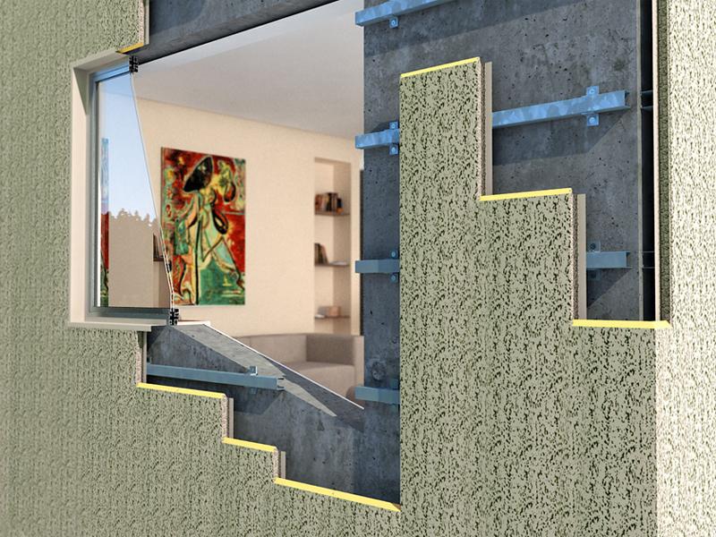 Sistem de anvelopare al cladirilor - Tipuri de montaj THERMOMAX - Poza 3