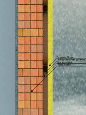 Sistem de anvelopare al cladirilor - Tipuri de montaj THERMOMAX - Poza 1