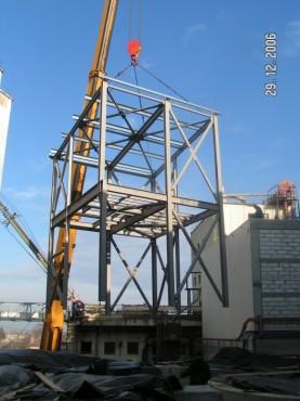 Hale metalice - Fabrica de bere URSUS Buzau 2004-2006 Ghemark Steel - Poza 1