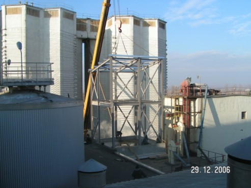 Hale metalice - Fabrica de bere URSUS Buzau 2004-2006 Ghemark Steel - Poza 2