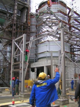 Hale metalice - Fabrica de bere URSUS Buzau 2004-2006 Ghemark Steel - Poza 3