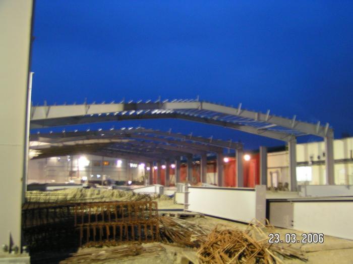 Hale metalice - Fabrica de bere URSUS Buzau 2004-2006 Ghemark Steel - Poza 4