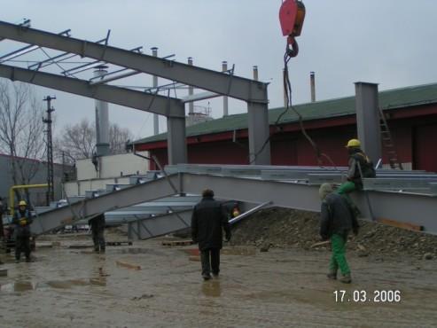 Hale metalice - Fabrica de bere URSUS Buzau 2004-2006 Ghemark Steel - Poza 6