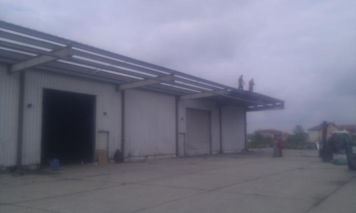 Hale metalice - Heineken - relocat depozit de bere 2011 Ghemark Steel - Poza 1