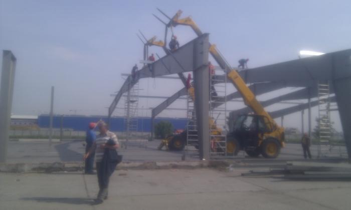 Hale metalice - Heineken - relocat depozit de bere 2011 Ghemark Steel - Poza 4