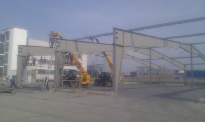 Hale metalice - Heineken - relocat depozit de bere 2011 Ghemark Steel - Poza 5