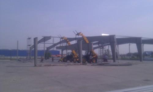 Hale metalice - Heineken - relocat depozit de bere 2011 Ghemark Steel - Poza 6