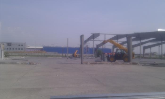 Hale metalice - Heineken - relocat depozit de bere 2011 Ghemark Steel - Poza 9