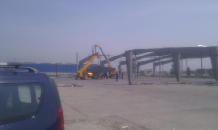 Hale metalice - Heineken - relocat depozit de bere 2011 Ghemark Steel - Poza 10