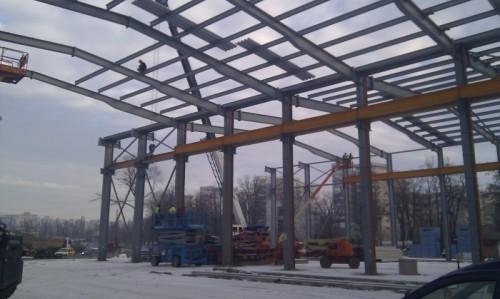 Hale metalice - Max Boegl - relocat hala 2010 Ghemark Steel - Poza 2