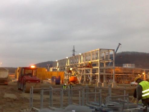 Hale metalice - OMV - statie distributie gaz Hurezani 2009 Ghemark Steel - Poza 1