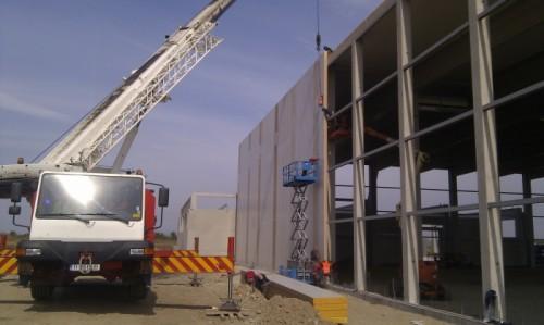 Hale metalice - Piritex - depozit frigorific parc industrial Ploiesti 2011 Ghemark Steel - Poza 2