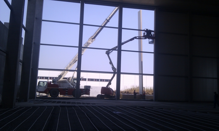 Hale metalice - Piritex - depozit frigorific parc industrial Ploiesti 2011 Ghemark Steel - Poza 3