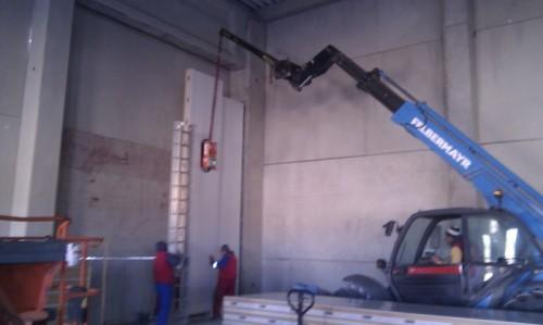 Hale metalice - Piritex - depozit frigorific parc industrial Ploiesti 2011 Ghemark Steel - Poza 4
