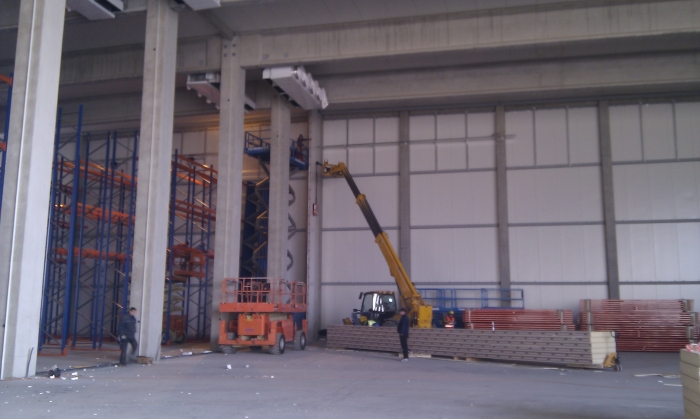 Hale metalice - Piritex - depozit frigorific parc industrial Ploiesti 2011 Ghemark Steel - Poza 5