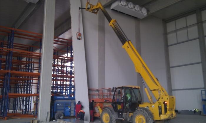 Hale metalice - Piritex - depozit frigorific parc industrial Ploiesti 2011 Ghemark Steel - Poza 6