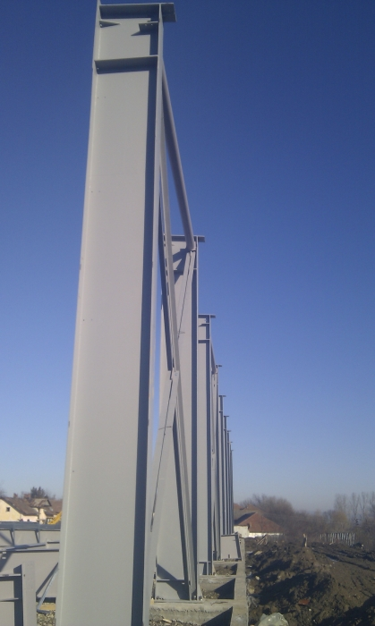 Hale metalice - Raureni - depozit frigorific 2011 Ghemark Steel - Poza 6