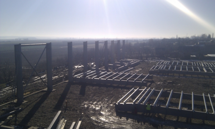 Hale metalice - Raureni - depozit frigorific 2011 Ghemark Steel - Poza 9