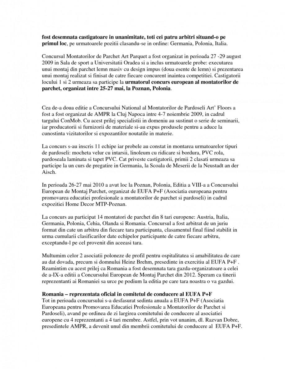 Pagina 2 - AMPR - Concursuri, organizare si participare  Catalog, brosura Romana aza capacitatea de ...