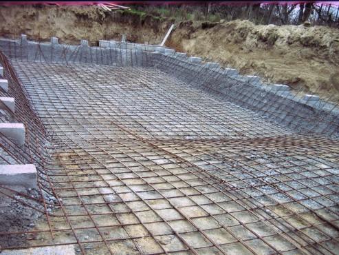 Piscina privata din beton cu cofrag pierdut - Faze montaj 1 MONDIAL PISCINE - Poza 1