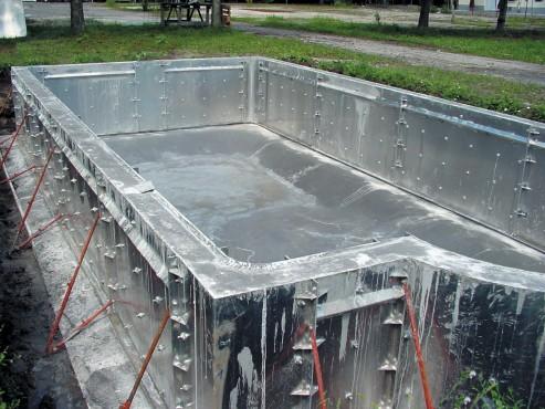 Piscine rezidentiale din beton cu cofraj din aluminiu - Faze de montaj HOBBIT CONCEPT RO - Poza 5