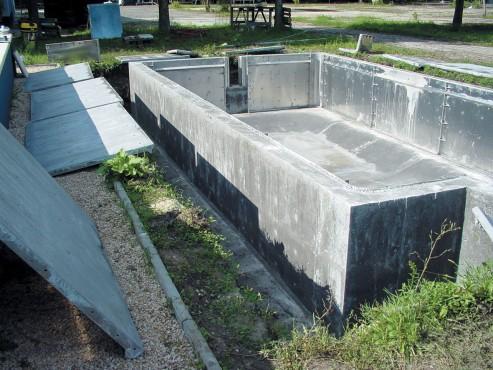 Piscine rezidentiale din beton cu cofraj din aluminiu - Faze de montaj HOBBIT CONCEPT RO - Poza 6