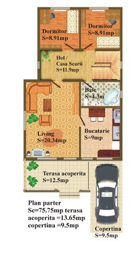 Casa de lemn CASANEO - Poza 4