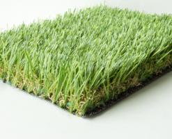 Gazon artificial Gazonul artificial/sintetic poate fi o solutie mai buna atunci cand mediul este deosebit de ostil cu iarba naturala. Un mediu arid sau unul in care nu se gaseste deloc lumina naturala este unul perfect pentru gazonul sintetic/artificial.Gazonul artificial/sintetic poate rezista semnificativ mai mult la utilizare fata de gazonul natural si la o frecventa mult mai ridicata. Acest lucru genereaza proprietarilor de terenuri de sport (tenis/fotbal/multisport) amenajate cu gazon sintetic/artificial, venituri mult mai mari comparativ cu gazonul natural.