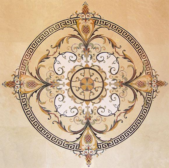Medalioane decorative pentru pardoseli - Europene SIDORA - Poza 6