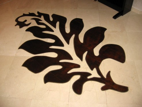 Lucrari, proiecte Medalioane decorative pentru pardoseli - Modele Florale SIDORA - Poza 6
